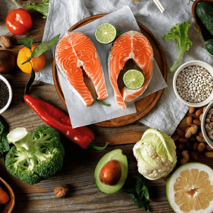 Manger des aliments sains facilite les soins de la peau