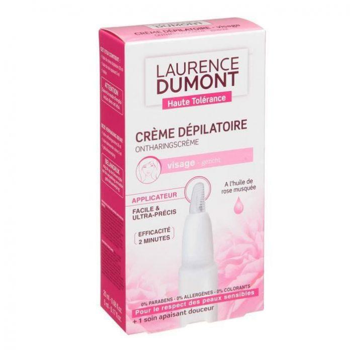 Test at avis de LAURENCE DUMONT Crème Dépile Visage 25 ml