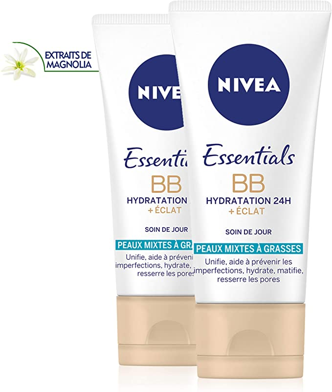 Test et avis Nivea Essentials BB Cream Hydratation 24H +Éclat