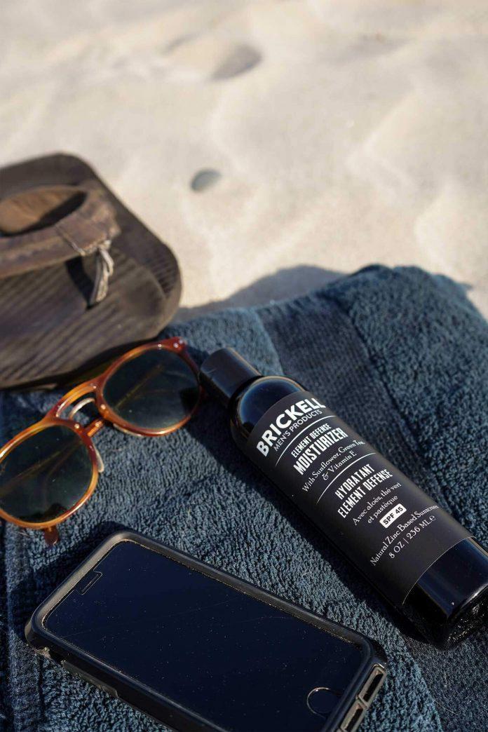 Brickell Men's écran solaire hydratant Element Defense Avec SPF45 test et avis