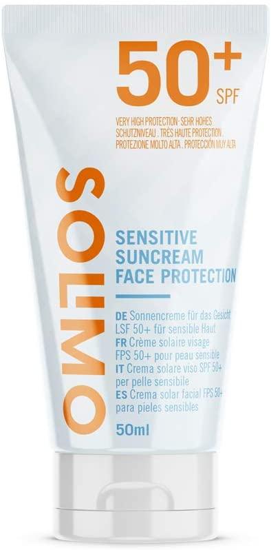 Solimo - SUN -Crème solaire sensible visage test et avis