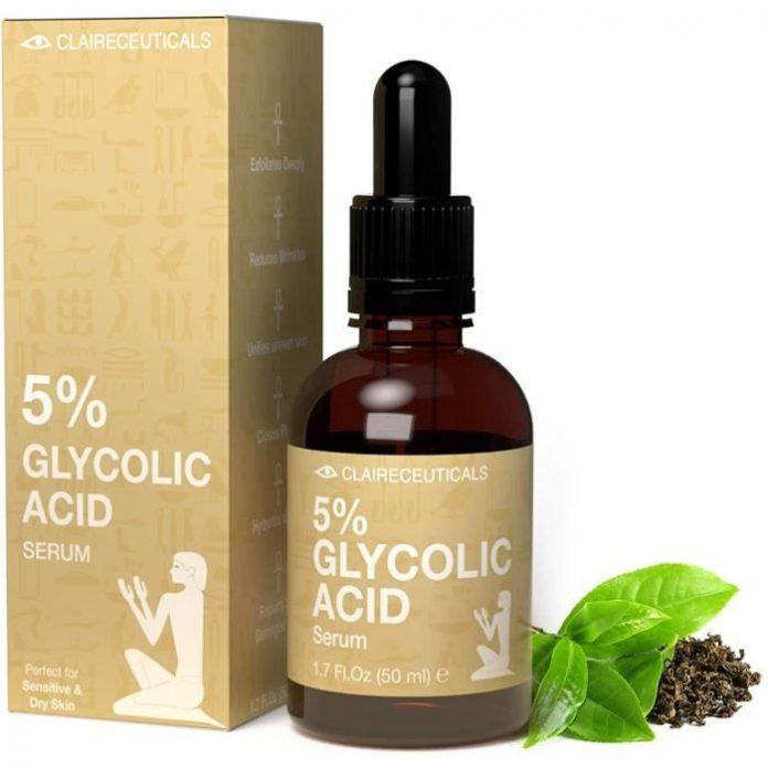 test et avis CLAIRECEUTICALS Sérum à l'Acide Glycolique AHA 5%