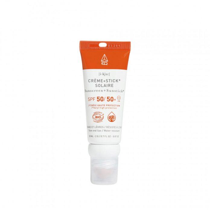 test et avis EQ Combistick crème SPF 50 & Stick SPF 50+