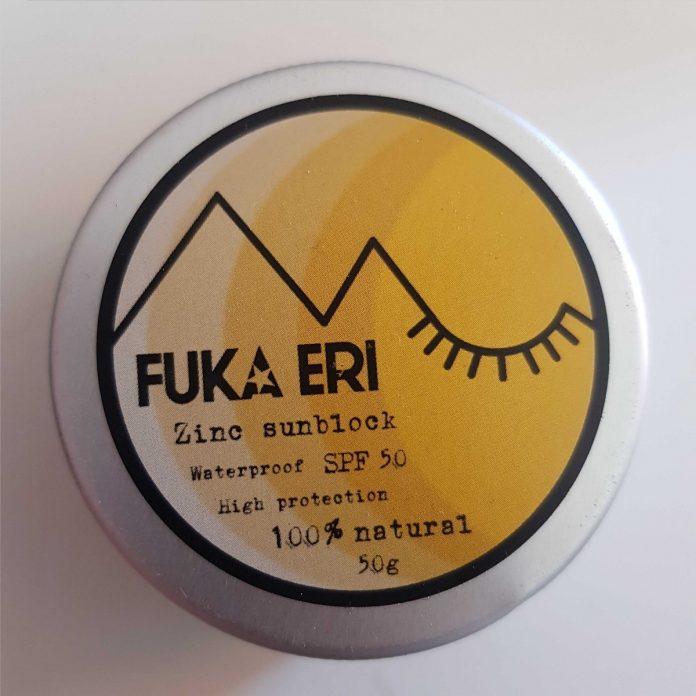 test et avis FUKA ERI crème solaire SPF 50