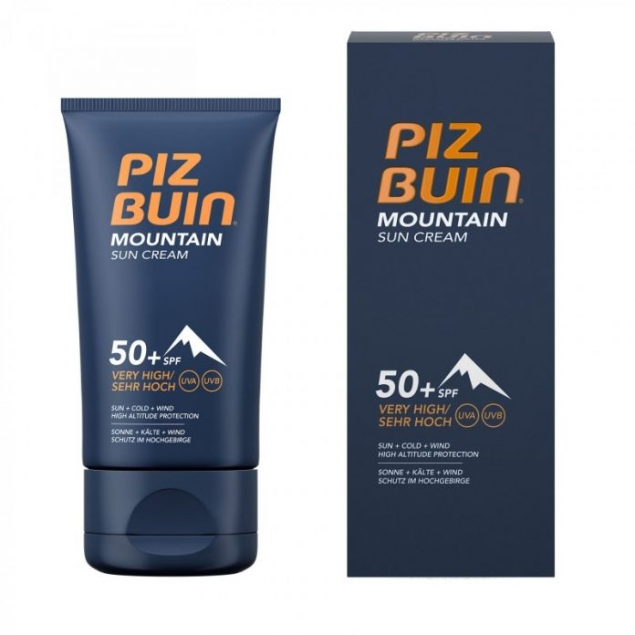 test et avis Piz Buin Mountain Crème de Protection Solaire SPF 50